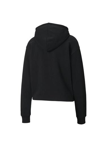 Puma Kadın Renkli ESS+ Metallic Cropp Sweatshirt 58241156 Renkli